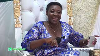 My Own Sister Duped Me While   Was Abroad    Saac Donkor On Emelia Brobbeys Okukuseku The Talk Show