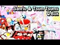 Sanrio & Disney TsumTsum October Q-Box SUPER DOUBLE Unboxing!! Kawaii Monthly Subscription Box