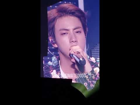 180922 Epiphany Jin @ BTS 방탄소년단 Love Yourself Tour in Hamilton Fancam 직캠