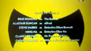the batman series 2004 credits with 2003 warner bros television logo