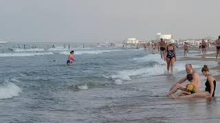 Анапа- море не очень :(. 7.20 утра 12.07.2018 ВИТЯЗЕВО ДЖЕМЕТЕ