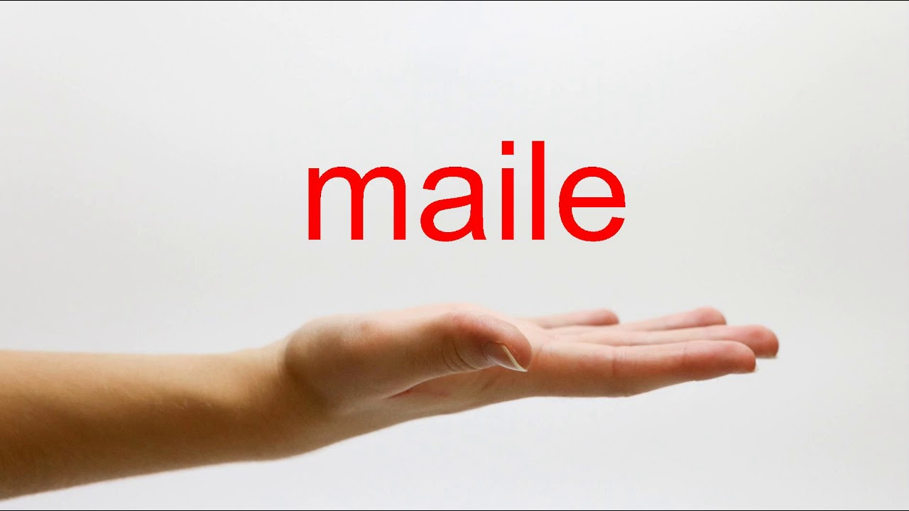 Download How to Pronounce maile - American English
