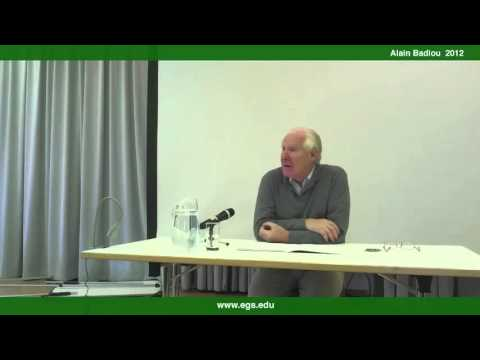 Alain Badiou. Introduction To The Philosophical Concept of Change. 2012