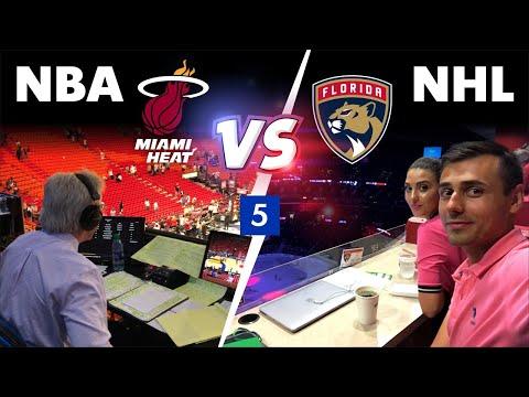 Майами, США #2 –  Баскетбол NBA или хоккей NHL?