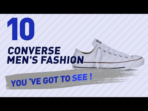 Converse All Star Blancas For Men // New & Popular 2017