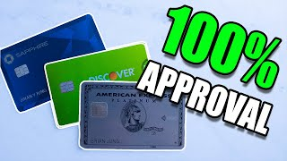 3 CREDIT CARD METHODS THAT WILL NEVER DENY YOU