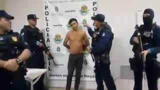 Subtenente Linha Dura de Varjota e sua equipe recapturam fugitivo suspeito de assaltos. RobertoLira