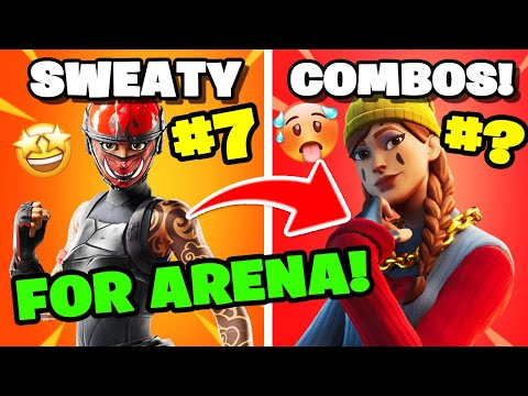 11 SWEATY COMBOS FOR ARENA! You MUST TRY THESE! Fortnite Chapter 2 Season 2