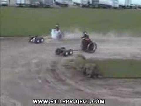 Redneck Chariot Race