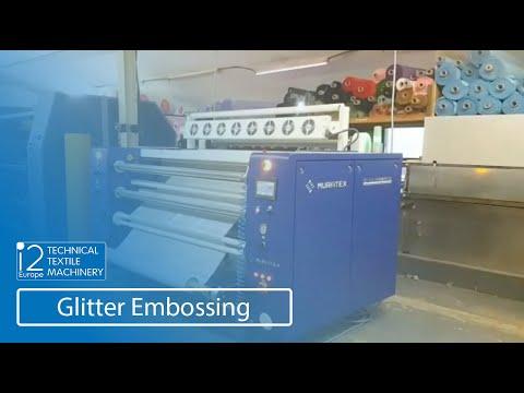 glitter embossing