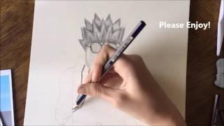 Aubrey221's Portrait [By: ArtStudious] Roblox Drawing