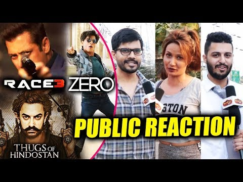 Race 3, Thugs Of Hindostan, Zero | Which Movie Are PUBLIC Excited For | Public Reaction
