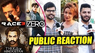 Race 3, Thugs Of Hindostan, Zero   Which Movie Are PUBLIC Excited For   Public Reaction