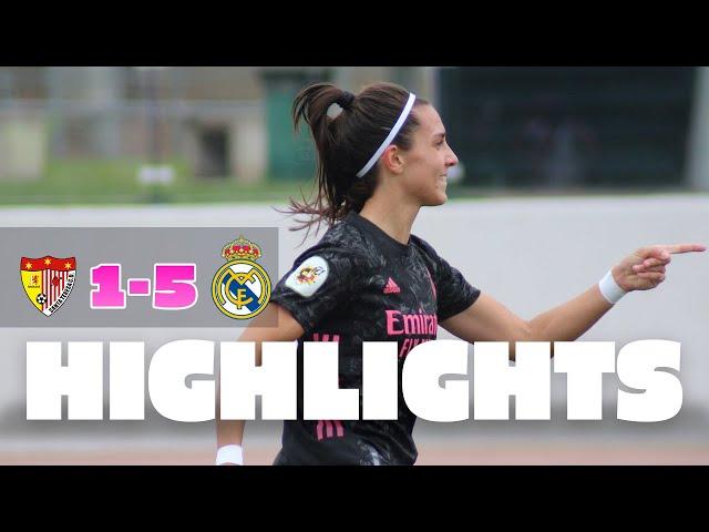 HIGHLIGHTS | Santa Teresa 1-5 Real Madrid | Primera Iberdrola