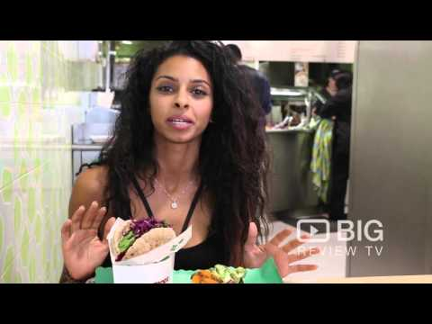 Maoz Vegetarian, a Vegan Restaurant in New York serving Authentic Falafel and Vegan Food