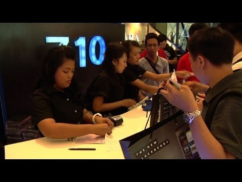BlackBerry Z10 launched in Indonesia