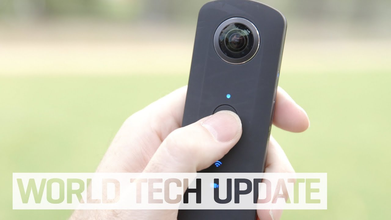Hands on with Ricoh's new Theta S 360° camera