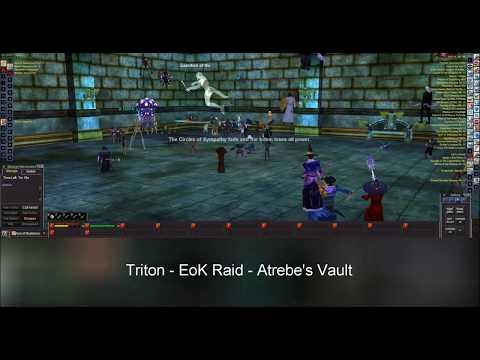 EverQuest Triton EoK Raid - Atrebe's Vault