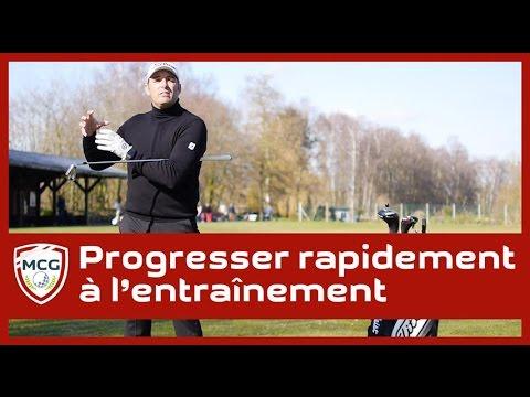 Entrainement et practice au golf: Progresser 5 fois plus rapidement
