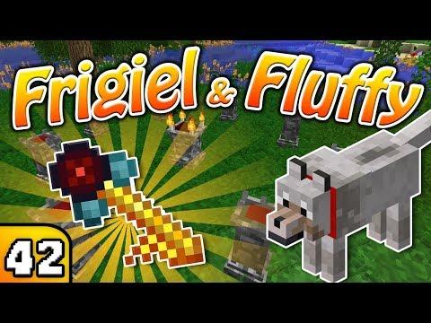 FRIGIEL & FLUFFY : LA CLÉ DIMENSIONNELLE  | Minecraft - S4 Ep.42