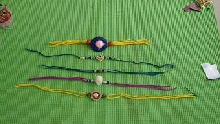 DIY Handmade Rakhi #IllanCreation