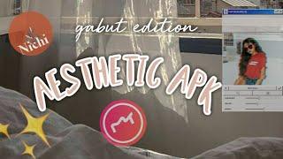 -aesthetic apk edit foto/video keren✨gabut edition❗
