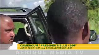 JOSHIA OSIH A NKOT NAM  DANS LA REGION DE L'EST