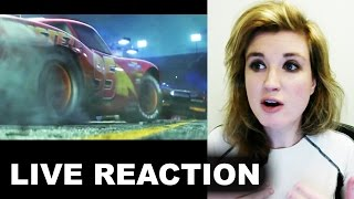 "Cars 3 ""Next Generation"" Trailer REACTION"