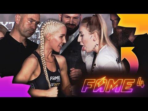 FAME MMA 4 - Linkimaster vs Lil Masti (Ceremonia Ważenia) ⚠️