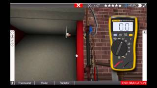 Gas Boiler Blocked Vent Safety Switch Troubleshooting Video