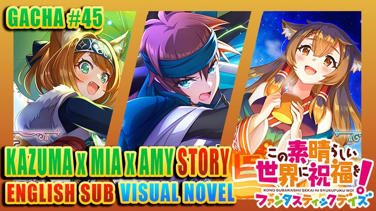 KONOFAN | GACHA STORY | Amy's Abnormal Love and Kazuma's Milk Carton Outfit #45