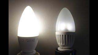 видео Светодиодные лампы для дома - как выбрать и на что обратить внимание