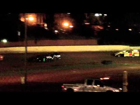 lake cumberland speedway 10 21 11 open wheel heat 2 part 2