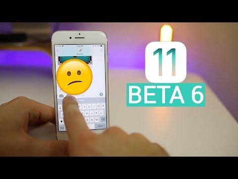 iOS 11 Beta 6 - More BAD Changes Than Good