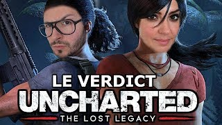 UNCHARTED The Lost Legacy : Digne héritier ou épisode de trop ? TEST PS4 Pro