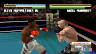 Knockout Kings 2000 - Floyd Mayweather Jr. vs Angel Manfredy