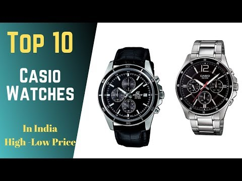 10 Best Casio Watches To Buy In India 2019 On Amazon