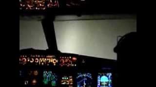 Посадка самолета при нулевой видимости