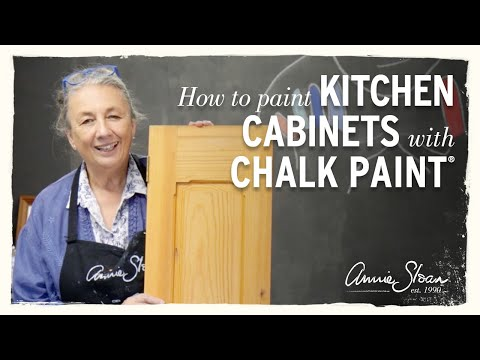How to paint your kitchen cabinets with Chalk Paint®