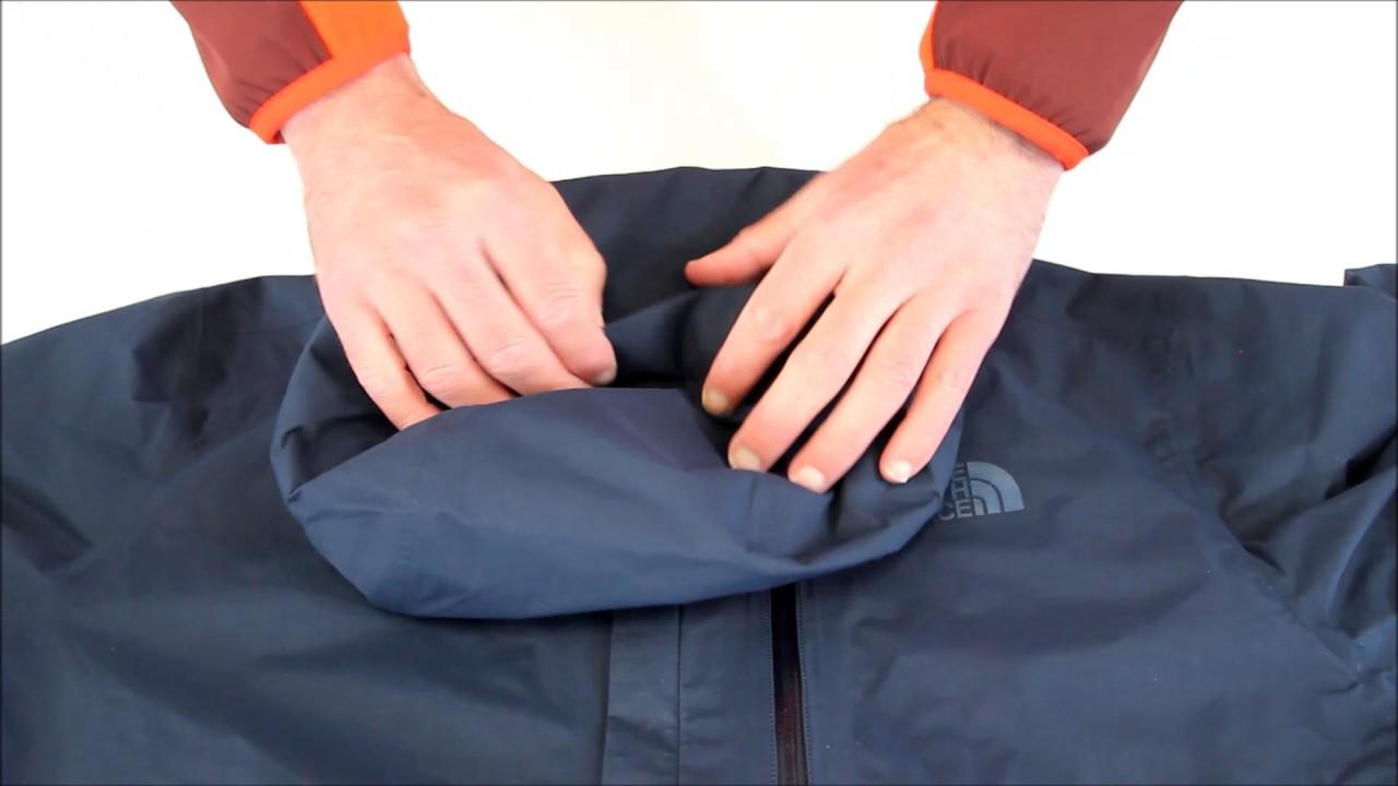 outlet winkel verkoop goede pasvorm gerenommeerde site RayonRando.com : Gros plan sur la veste homme Gore-Tex Dryzzle Jacket de  The North Face