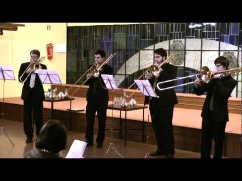 Gabrieli Sonata, Bon-Bones Quartet. Live in Ferrol, November 2012