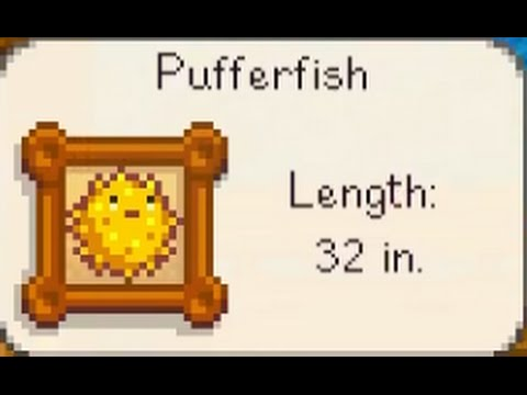 Pufferfish: Stardew Valley Tips and Tricks