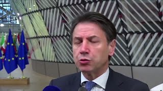 Giuseppe Conte Congratulates Johnson Andquothis Victory ... Allows Us To Think About An Orderly Brexitandquot