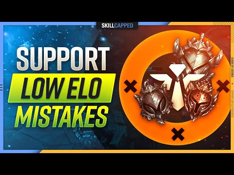 LOW ELO Mistakes EVERY Support Makes and How to FIX Them! – Support Guide