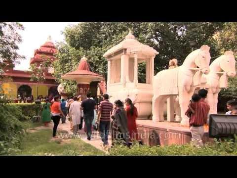 Crowds gather for Janmashtami celebration on Birla Mandir