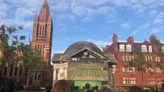 伦敦看温网决赛是怎样的体验? Wimbledon 2019 Final Roger Federer vs Novak Djokovic full game #Wimbledon