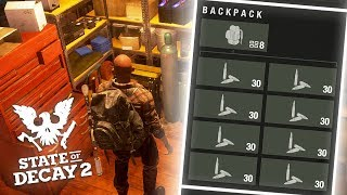 INFINITE AMMO SUPPLY! State of Decay 2