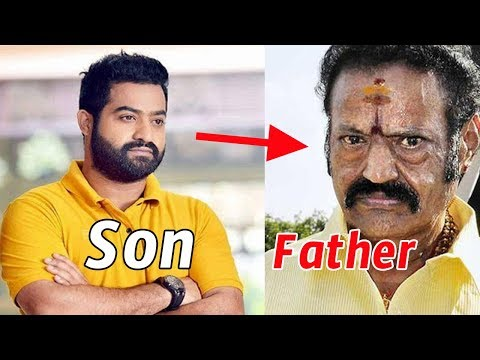 Real Life Father and Sons in South India Telugu Actors | Tollywood Nagar