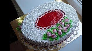 Овальный тортик(Oval cake)