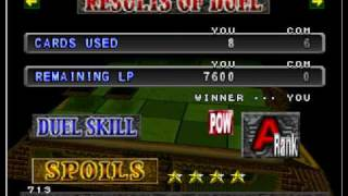 Yu-Gi-Oh Forbidden Memories ganhando Meteor B.Dragon